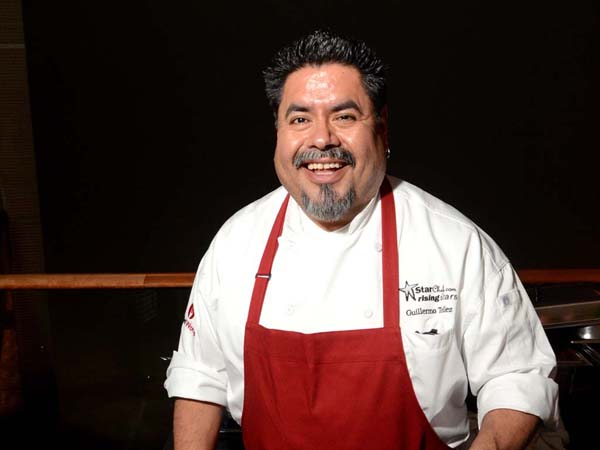 Chef Guillermo Tellez of Red Owl Tavern at Hotel Monaco. ( Al B. For / Philly.com )