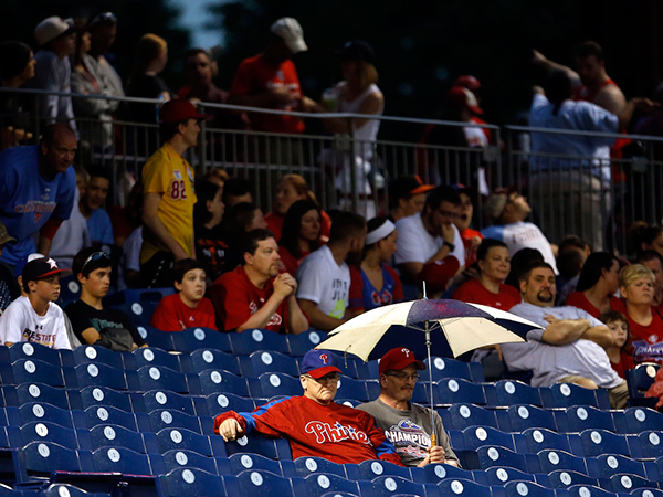 Philly Fans Are The Worst Phillies Fans Have Second