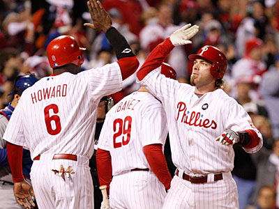 The Phillies have a 2-1 series lead over the Dodgers in the NLCS. (Ron Cortes / Staff Photographer)
