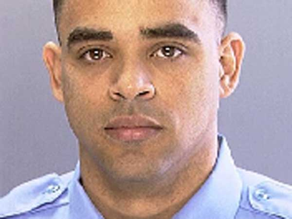 Philadelphia police officer Jose Tirado (pictured here) and his brother are accused of running a tax fraud conspiracy that submitted more than $500,000 in false claims to the Internal Revenue Service.