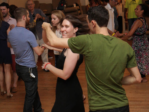 A variety of free dance courses will be offered Saturday, July 26 during Philadelphia Dance Day. (Photo by Sergio Rojstaczer)