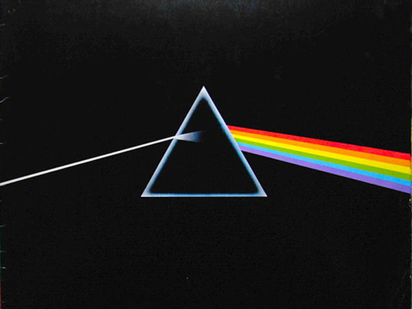 "Album art from Pink Floyd´s 1979 album ""The Dark Side Of The Moon"""