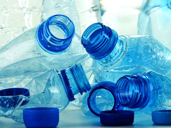 Phthalates, like those contained in these plastic water bottles, may be a culprit behind low testosterone levels.