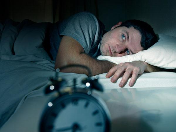 He can´t seem to get a good nights sleep.