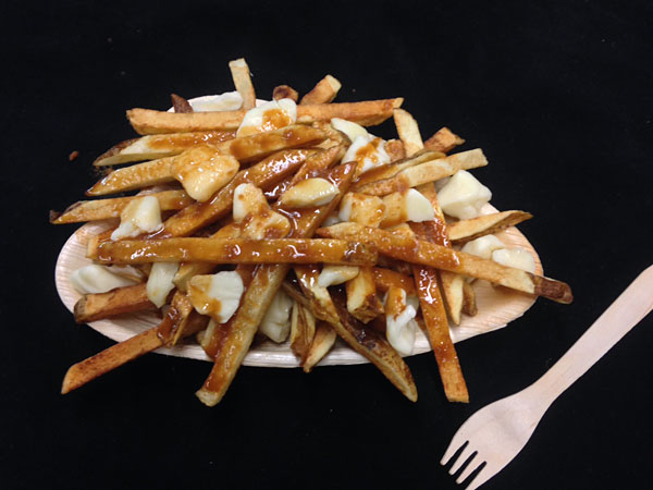 Cow and the Curd owner Rob Mitchell´s poutine.