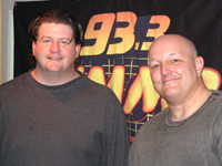 Steve Morrison (right) with Preston Elliot in 2007 (before Elliot lost a bunch of weight).