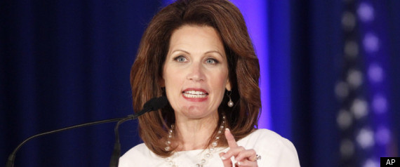 Rep. Michele Bachmann sporting some 70s-style Loretta Lynn big hair at Republican Leadership Conference in New Orleans.