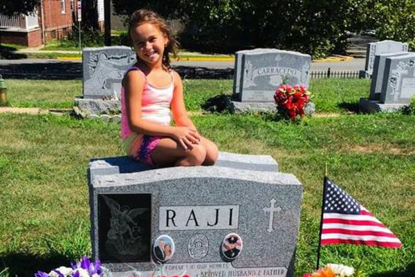 Mikayla Raji, 8, is the daughter of Perth Amboy Police Officer Thomas Raji, who was killed by a drunk driver in 2008.