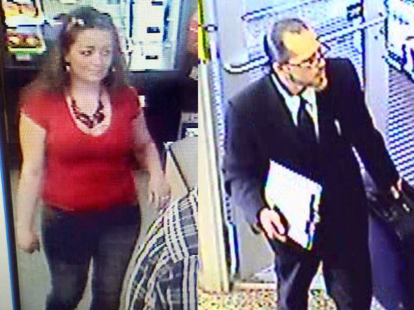 Police said these two suspects stole $800 in Red Bull from multiple Wawa stores in Toms River, N.J.