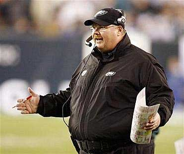 Do fans have the right to criticize Andy Reid and the Eagles for their play-calling? (AP)