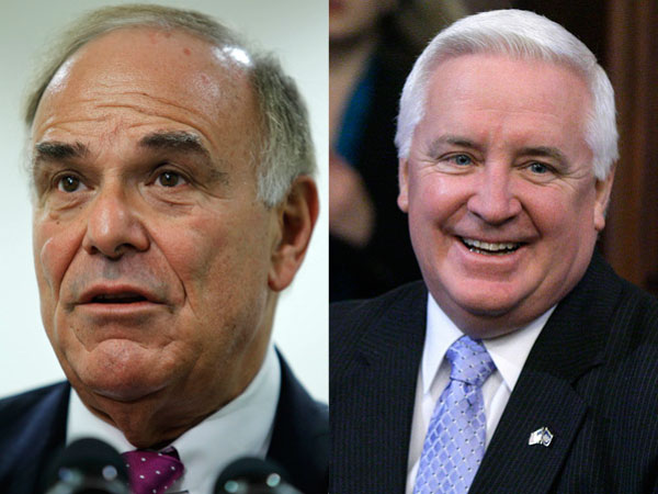 Gov. Tom Corbett would trail Ed Rendell in a hypothetical 2014 match up, Public Policy Polling survey finds.