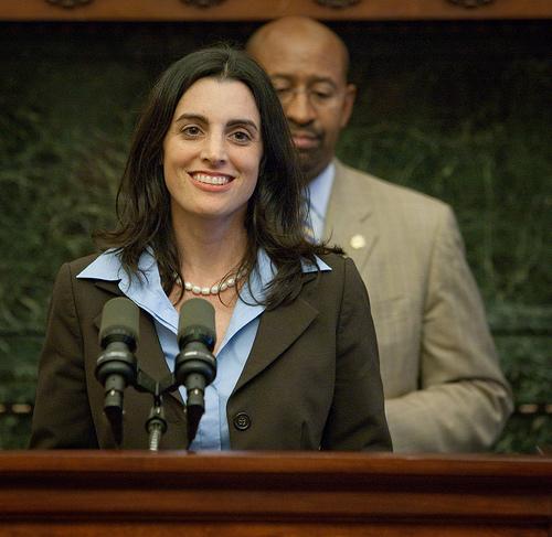 Rebecca Rhynhart, the city´s budget director.