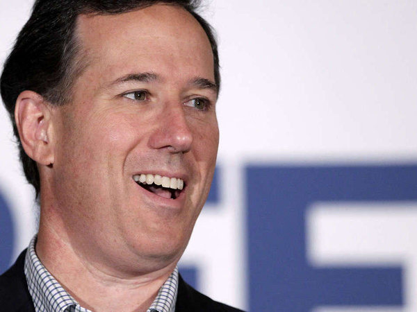 FILE - Rick Santorum