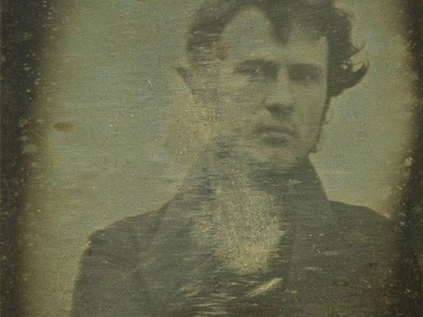 What is likely the world´s first selfie, taken in 1839 by Philadelphia´s Robert Cornelius.