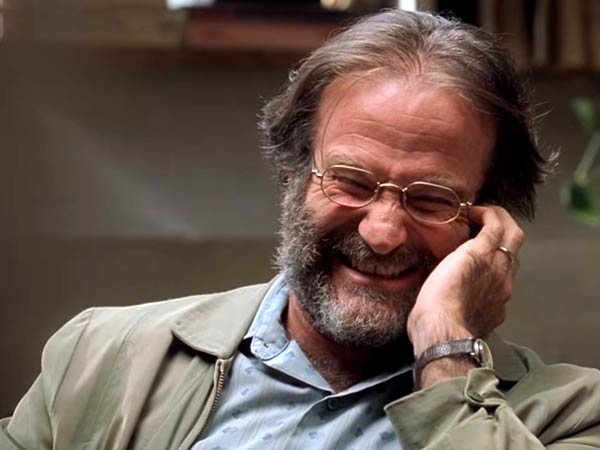 Robin Williams as Dr. Sean Maguire in ´Good Will Hunting.´