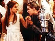"Claire Danes and Leonardo DiCaprio in Baz Luhrmann´s ""Romeo + Juliet"""