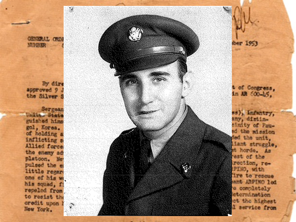 "William ""Ron"" Arpino was just 20 years old when he served as a sergeant in the U.S. Army during the Korean War."