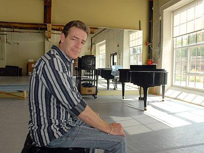 Pennsylvania Ballet artistic director Roy Kaiser in the comapany´s studios in East Falls. (Ron Tarver / Staff Photogapher)