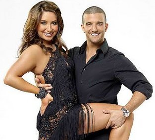Bristol Palin and partner Mark Ballas.