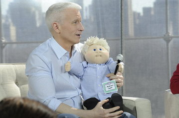 anderson cooper cabbage patch kid doll philly