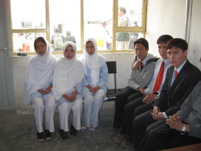 Students from Constitution High School in Philadelphia will pair with students from Marefat High School in Kabul. (Trudy Rubin/Staff)