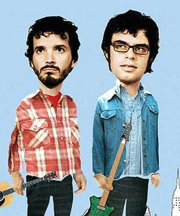 The Flying Conchords. Is anybody more artsy?