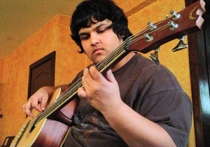 Musician, Brandt Wilson, has adapted to the increased usage of social media. Credit: Cody Boughman