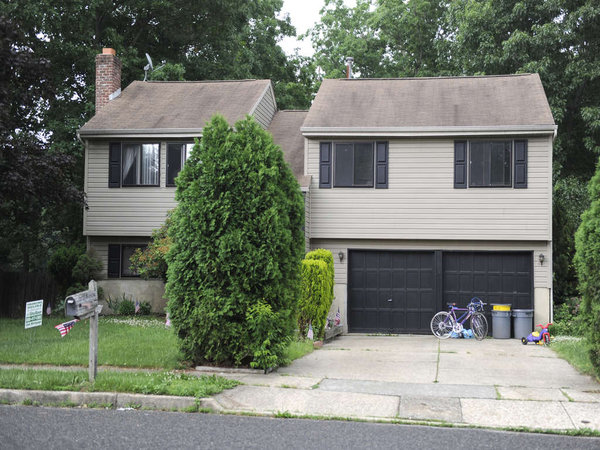On Hydra Lane , a $149,900 listing. Township prices range up to $500,000 or more. TOM GRALISH / Staff Photographer