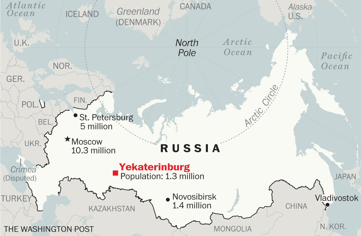 This Russian city says 'Don't call us Siberia' on world map russia siberia, world map russia moscow, world map russia st. petersburg,