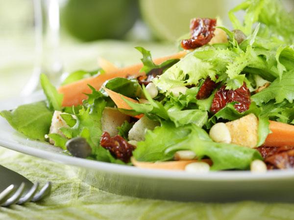 Healthy Family Recipe Crunchy Veggie Chopped Salad