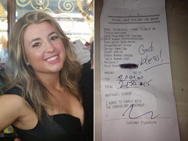 Rouge bartender Sam Trasatti was $2,000 richer.
