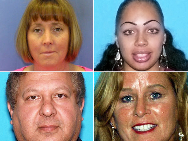 Clockwise from top left: Mary Conlin, 51, of West Chester, Pa.; Leonor Canales, 40, of Orlando, Fla.; Rita O´Connor, 60, of Toms River, and Magdi Mosaid, 55, of Hasbrouck Heights.