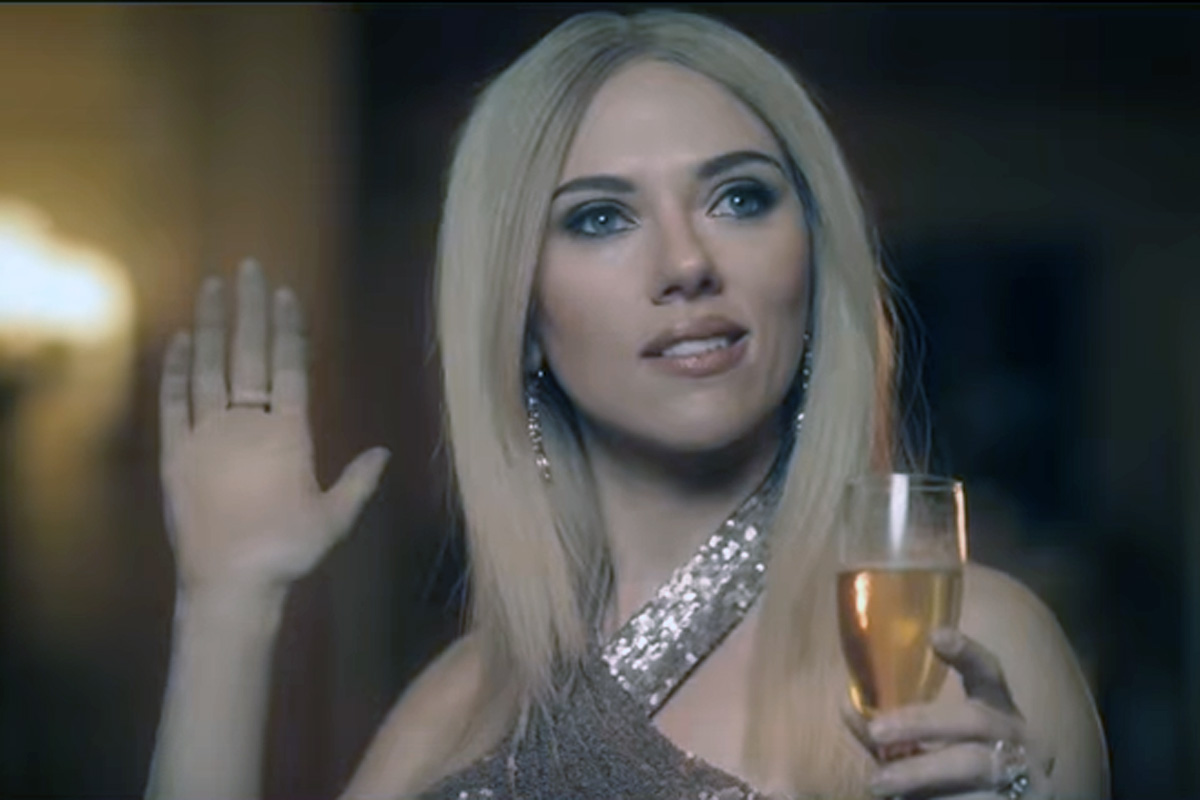 """Scarlett Johansson´s portrayal of Ivanka Trump in a mock fragrance commercial prompted an increase in interest in """"complicit."""""""