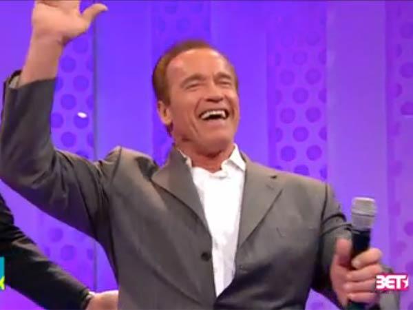 When Arnold says ´dance,´ you dance.