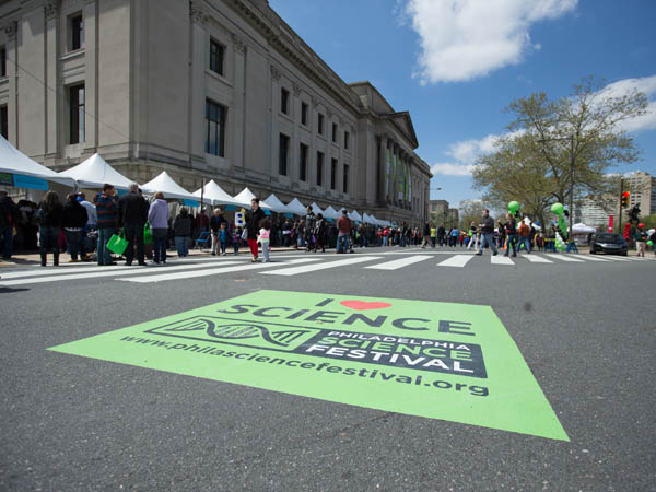 The Philadelphia Science Festival will be held April 25 through May 3 and will conclude with a day-long science carnival along the Ben Franklin Parkway.