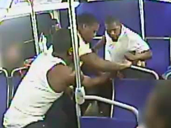 "Police say these three men beat a SEPTA passenger in front of horrified riders on Tuesday, June 25, 2013. <a href=""http://www.philly.com/philly/video/213279951.html""><b>WATCH: The video here</b></a>"