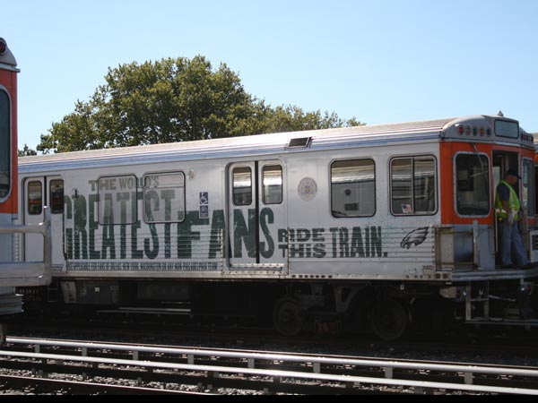 SEPTA will offer free rides on the Broad Street Line for eight hours Sunday for the Eagles home opener.