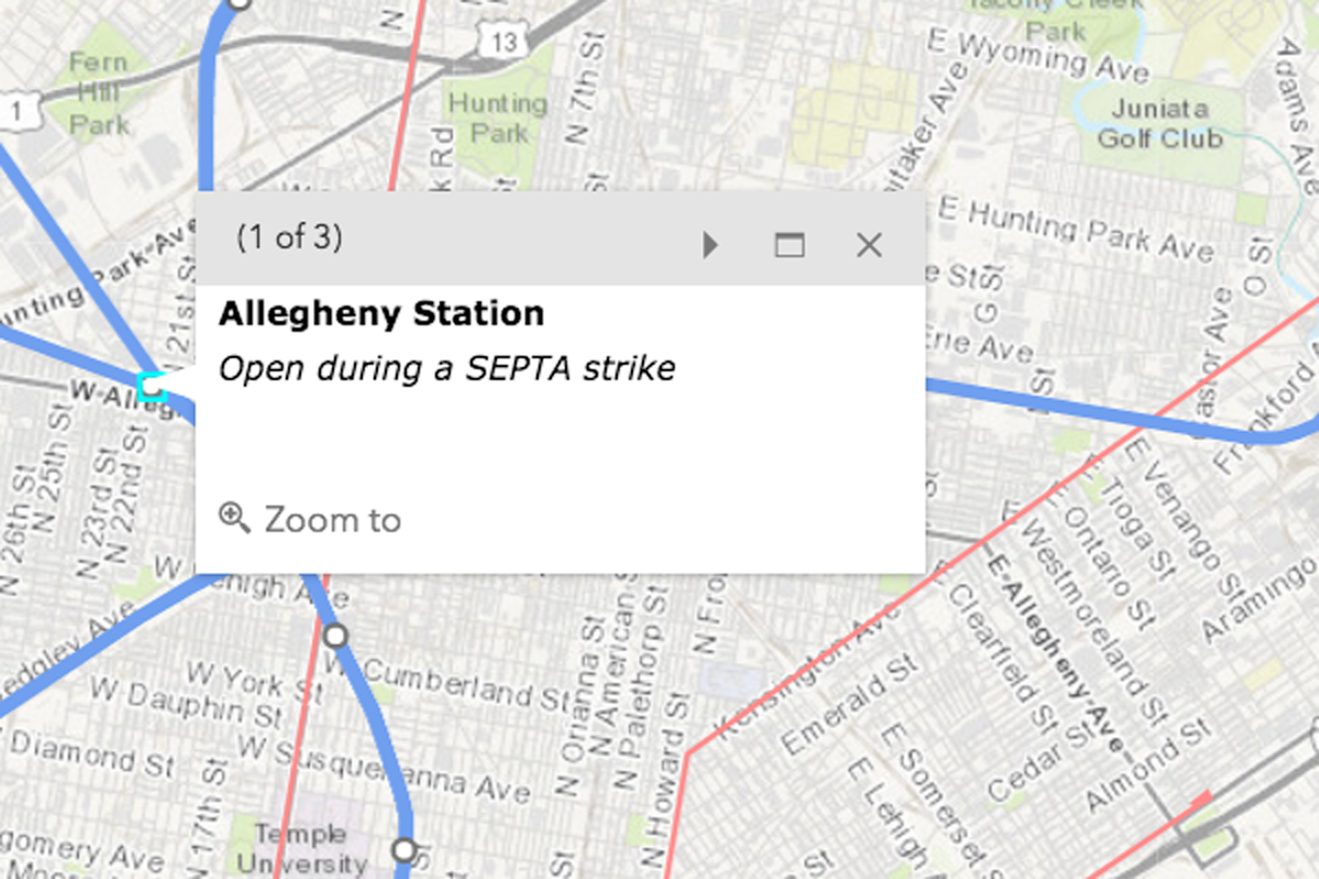 Getting Around Philly During A SEPTA Strike - Philly septa map
