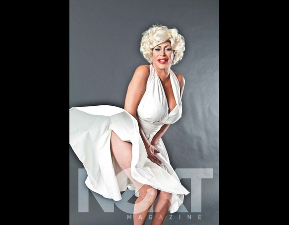 Big Ang feels the breeze of Marilyn´s fame