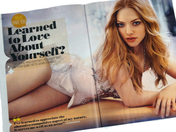 "Amanda Seyfried of Allentown in People Magazine´s ""Most Beautiful"" issue for 2013."
