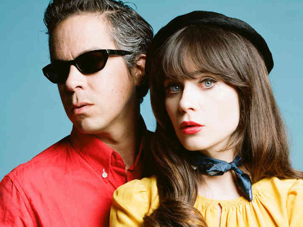 She & Him will play the Mann Center on Tuesday, July 9.