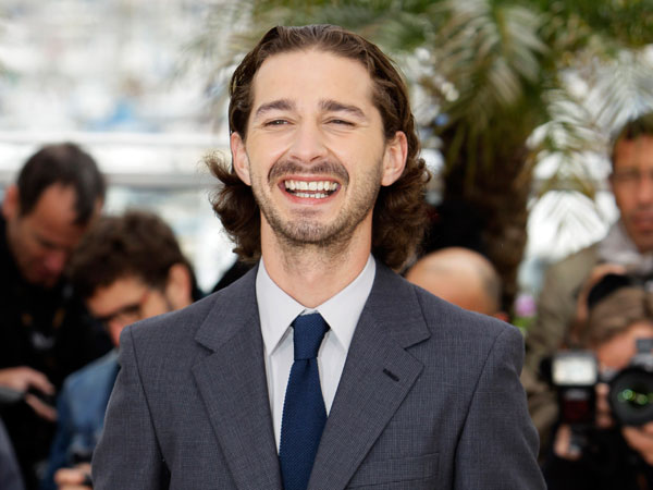 In this May 19, 2012, file photo, actor Shia LaBeouf poses during a photo call for Lawless at the 65th international film festival, in Cannes, southern France. (AP Photo/Francois Mori, File)