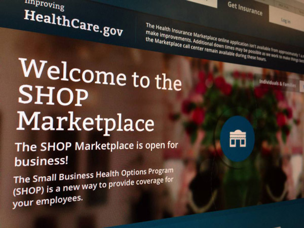 The federal health-care website. (AP Photo/Jon Elswick, File)