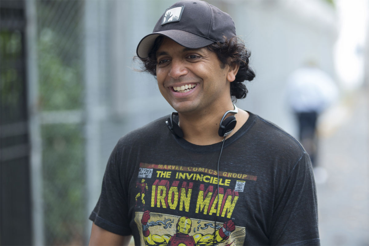 Writer/director/producer M. Night Shyamalan.
