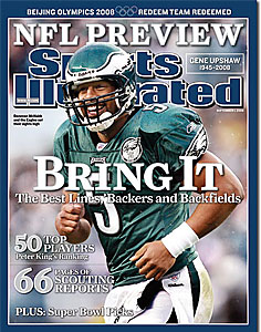 Sports Illustrated predicts that Donovan McNabb and the Eagles will win the NFC and go to the Super Bowl. (SI.com)