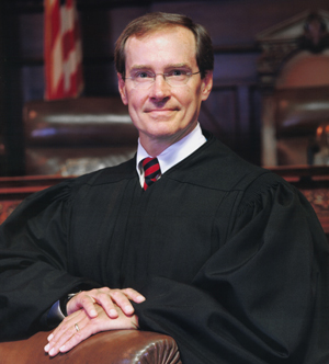 Judge Robert E. Simpson Jr. of Commonwealth Court.