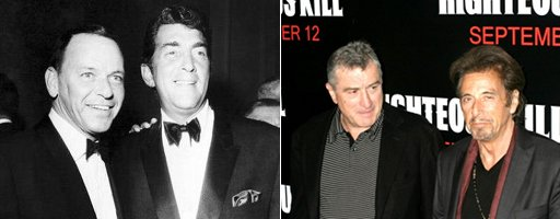 Might Frank Sinatra and Dean Martin be incarnated respectively by Al Pacino and Robert De Niro in the forthcoming Scorsese Sinatra biopic?