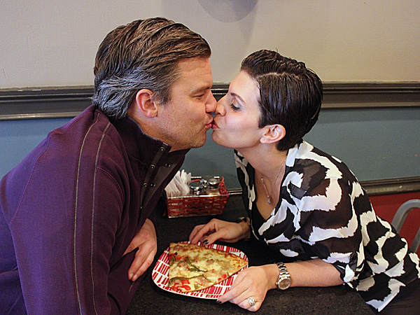 Can you top this? Jason and Marlo Dilks of the SLiCE pizzerias.