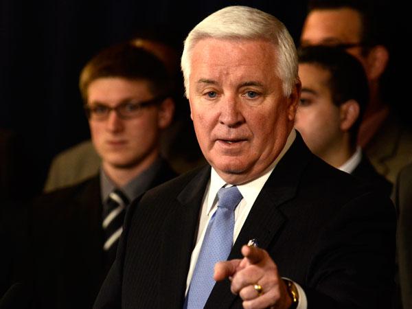 Gov. Tom Corbett. (Ralph Wilson/AP file photo)