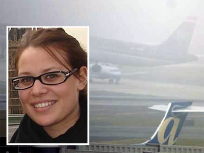 Rebecca Solomon, a 22-year-old college student, was passing through security at Philadelphia International Airport when a TSA worker, she says, pulled a small clear plastic bag with white powder from her bag as a joke.